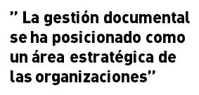 gestion documental estrategica en la organización